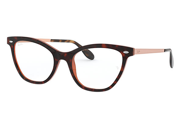Ray-Ban 0RX5360-RB5360 Tortoise,Brown; Bronze-Copper OPTICAL