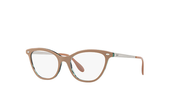 Ray-Ban 0RX5360-RB5360 Beige,Green; Silver OPTICAL