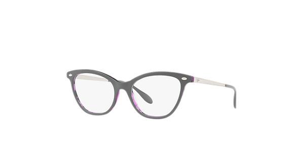 6ffc8c7d90d Ray-Ban prescription glasses RB5360 Grey - Acetate - 0RX5360571854 ...