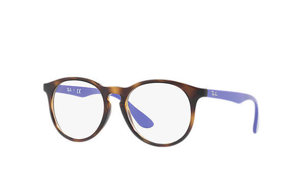 Ray-Ban 0RY1554-RB1554 Tortoise; Violet OPTICAL