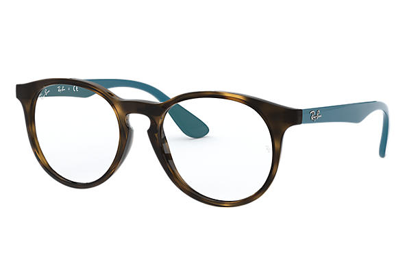 Ray-Ban 0RY1554-RB1554 Havana; Blau OPTICAL