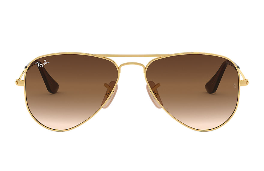 Ray-Ban  sunglasses RJ9506S CHILD 003 aviator junior gold 8053672786743