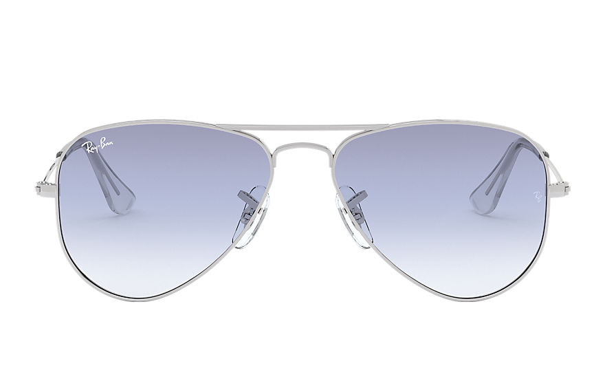 Ray-Ban  sunglasses RJ9506S CHILD 001 aviator junior silver 8053672786750