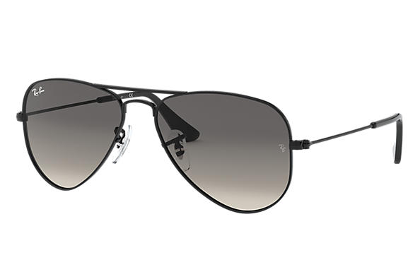Ray-Ban 0RJ9506S-AVIATOR JUNIOR Black SUN