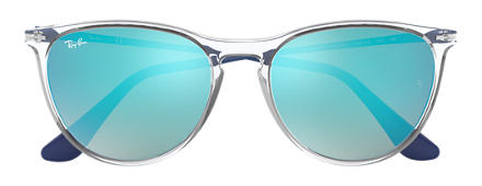Ray-Ban IZZY Transparent avec verres Bleu Gradient Flash