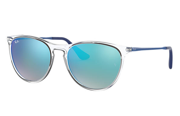 69e23ff80d Izzy Ray-Ban RB9060S Transparent - Injected - Verres Bleu ...