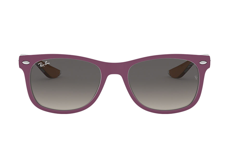 Ray-Ban  lunettes de soleil RJ9052S CHILD 001 new wayfarer junior violette 8053672786903