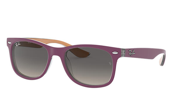 Ray-Ban 0RJ9052S-NEW WAYFARER JUNIOR Violet,Orange SUN