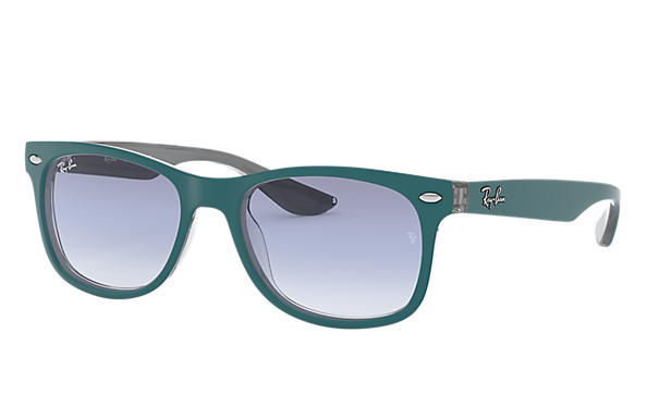 Ray-Ban 0RJ9052S-NEW WAYFARER JUNIOR Bleu,Gris SUN