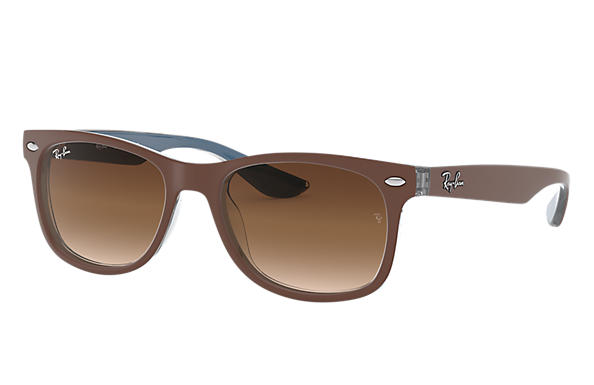 Ray-Ban 0RJ9052S-NEW WAYFARER JUNIOR Brown,Blue SUN