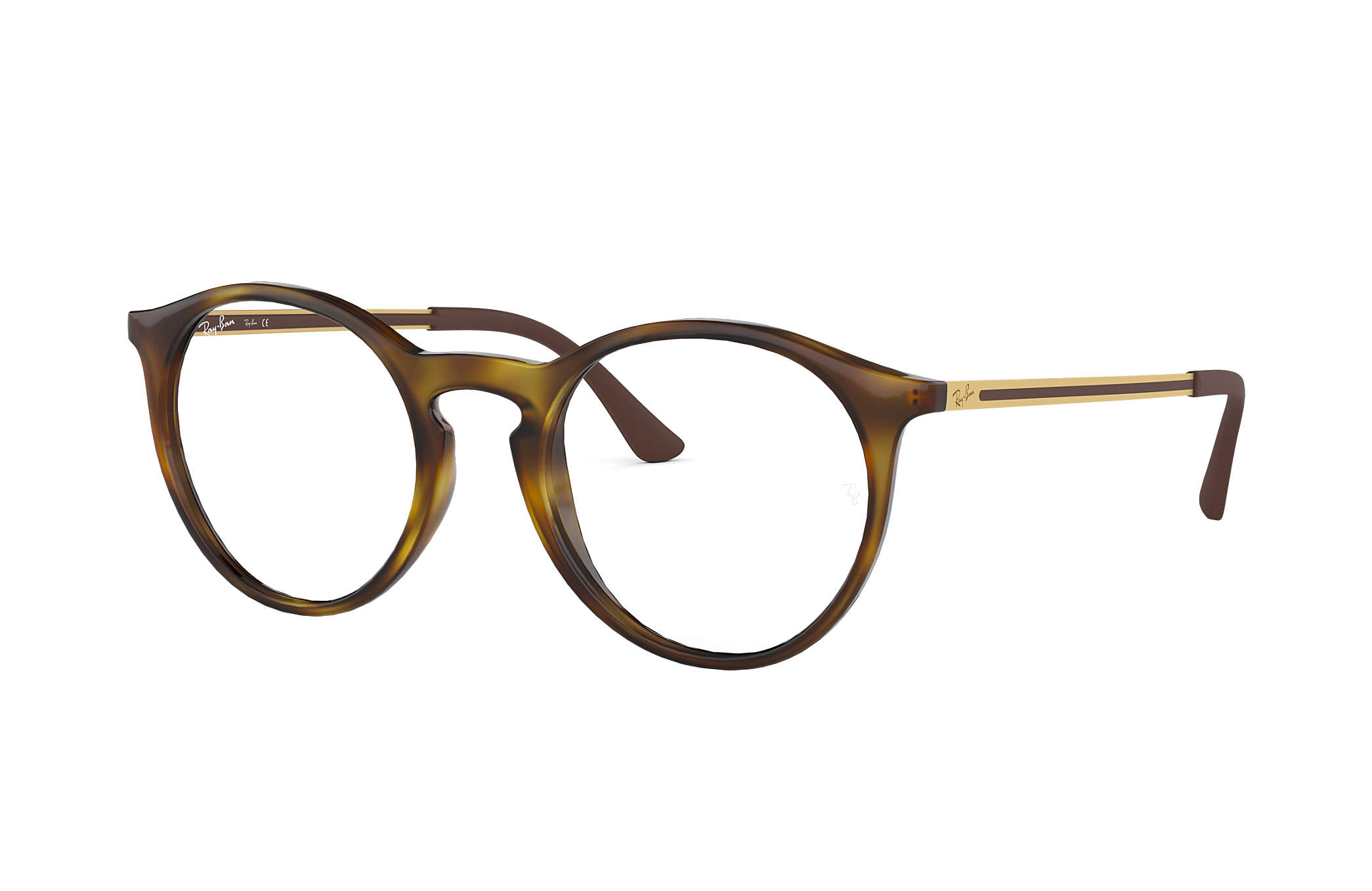 08a71f50c30 Ray-Ban eyeglasses RB7132F Tortoise - Injected - 0RX7132F201252 ...