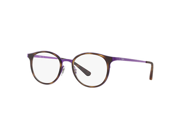 Ray-Ban		 0RX6372M-RB6372M Tortoise; Violet OPTICAL