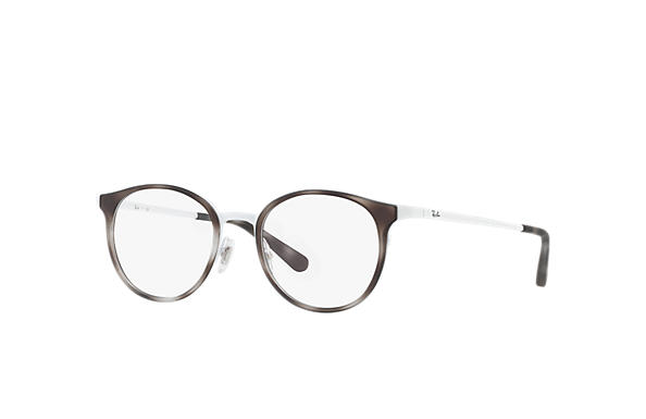 Ray-Ban 0RX6372M-RB6372M Tartaruga; Bianco OPTICAL