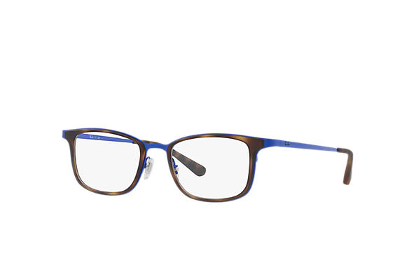 Ray-Ban 0RX6373M-RB6373M Tortoise; Blue OPTICAL
