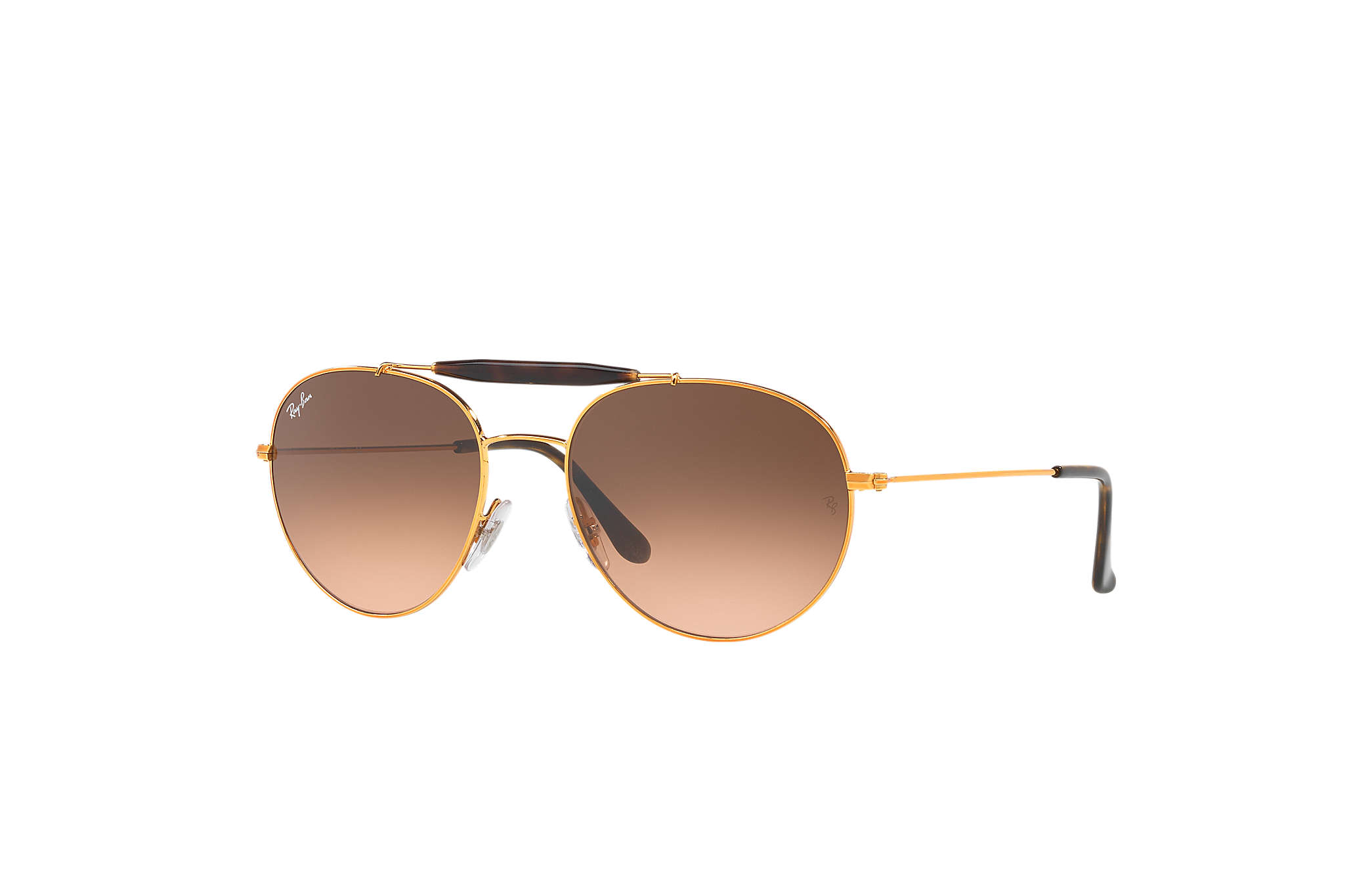 c6bc18dc46 Ray-Ban RB3540 Bronze-Copper - Metal - Pink Brown Lenses ...