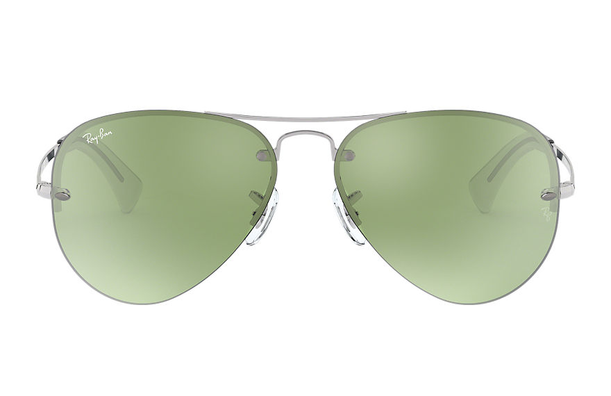 Ray-Ban  sunglasses RB3449 MALE 002 rb3449 银色 8053672788587