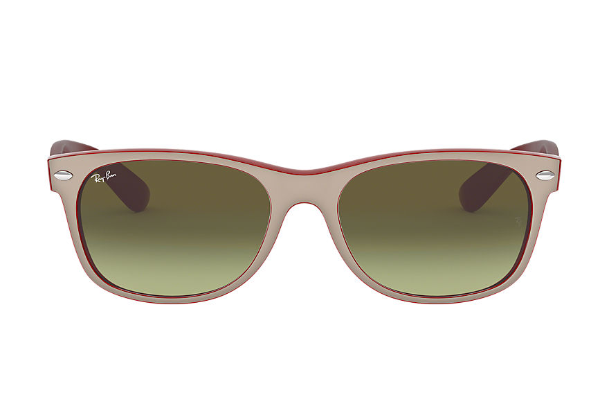 Ray-Ban  lunettes de soleil RB2132 UNISEX 001 new wayfarer color mix marron clair 8053672788594