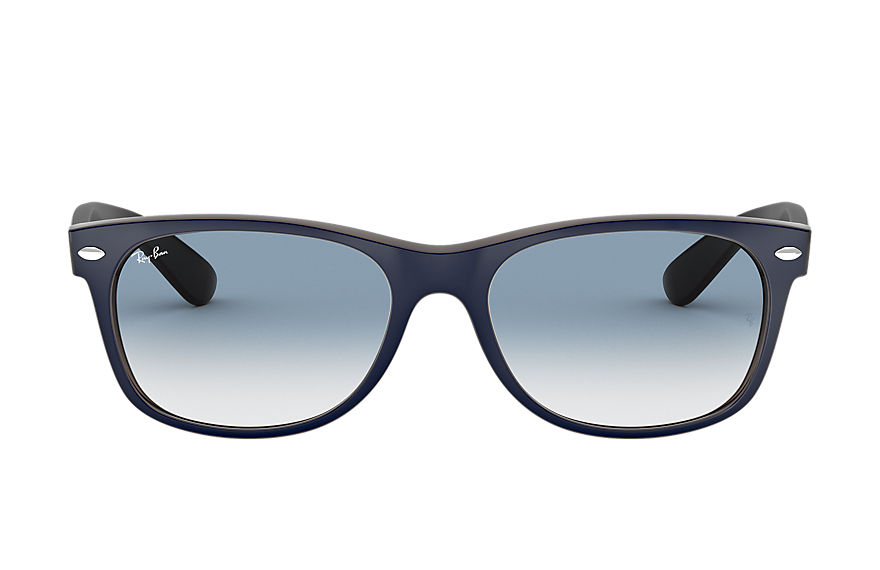 Ray-Ban  gafas de sol RB2132 UNISEX 002 new wayfarer color mix azul 8053672788631