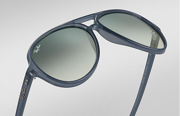 f11109275f Ray-Ban Cats 5000 Classic RB4125 Blu - Injected - Lenti Grigio ...
