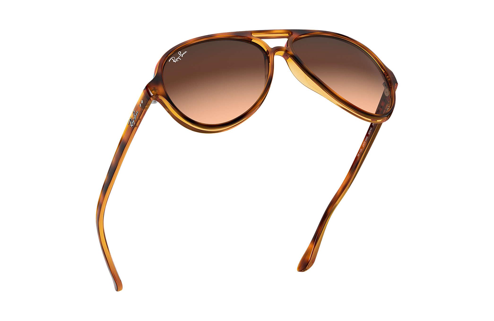 35fb4f4cb8 ... havana sunglasses rb 4125 710 51 59mm sd 348e2 3c6df  official store ray  ban 0rb4125 cats 5000 classic tortoise sun aa995 e00b5