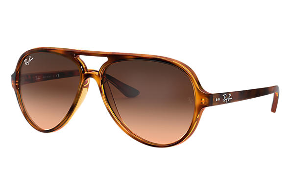 Ray-Ban 0RB4125-CATS 5000 CLASSIC Tortoise SUN