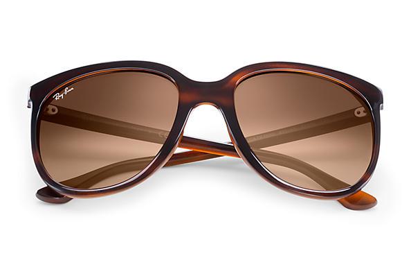 Cats 1000 Ray-Ban RB4126 Havane - Nylon - Verres Pink Brown ... c3aee6fddfad