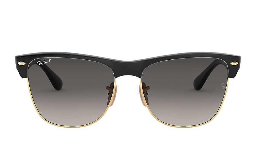 Ray-Ban  sunglasses RB4175 UNISEX 003 clubmaster oversized black 8053672789355