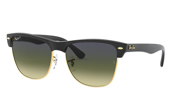 Ray-Ban 0RB4175-CLUBMASTER OVERSIZED Negro SUN