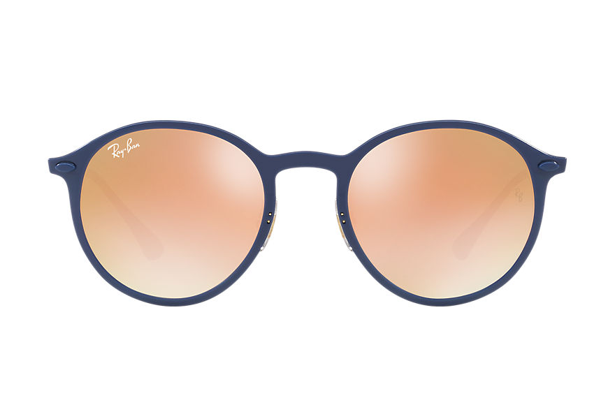 Ray-Ban  sonnenbrillen RB4224 UNISEX 003 round light ray blau 8053672789744