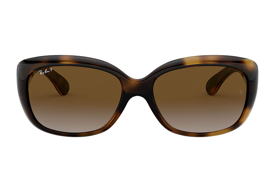 Ray-Ban JACKIE OHH Tortoise with Brown Gradient lens
