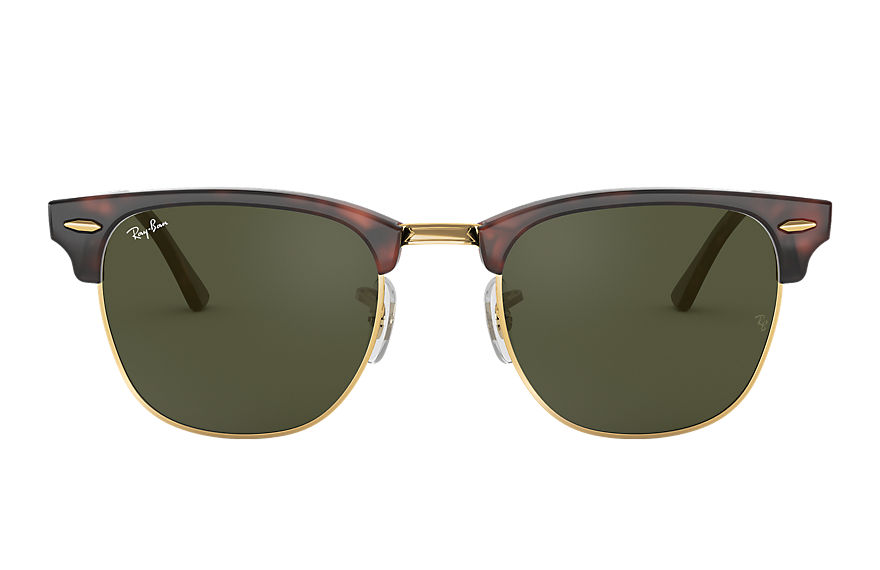 Ray-Ban  sunglasses RB3016F UNISEX 005 clubmaster classic low bridge fit tortoise 8053672790016