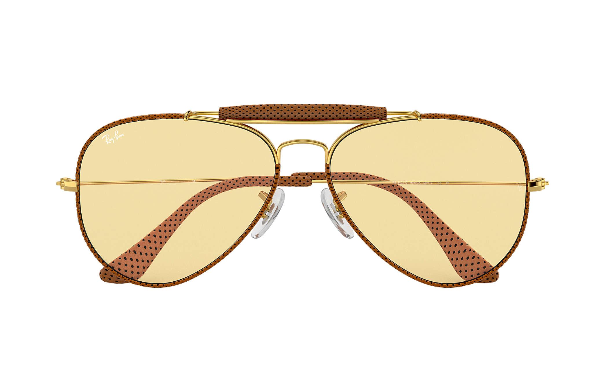 Ray-Ban Outdoorsman Craft Braun Gold, RB3422Q | Ray-Ban® Deutschland