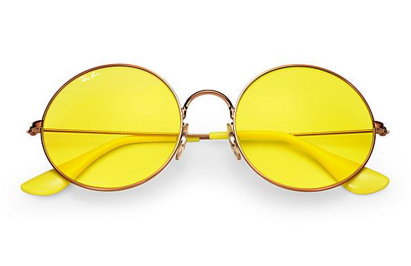 1808dff7b5 Ray-Ban Ja-jo RB3592 Bronze-Copper - Metal - Yellow Lenses ...