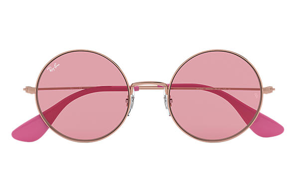 eac4f387aac Ray-Ban Ja-jo RB3592 Bronze-Copper - Metal - Pink Lenses ...