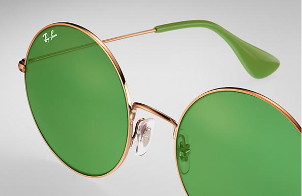 a92a3b25be Ray-Ban Ja-jo RB3592 Bronze-Copper - Metal - Green Lenses ...