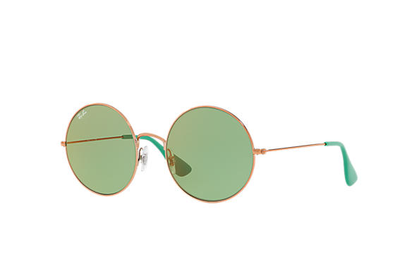 3ff3e5b91f28d Ray-Ban Ja-jo RB3592 Gold - Metal - Light Blue Lenses - 0RB3592001 ...