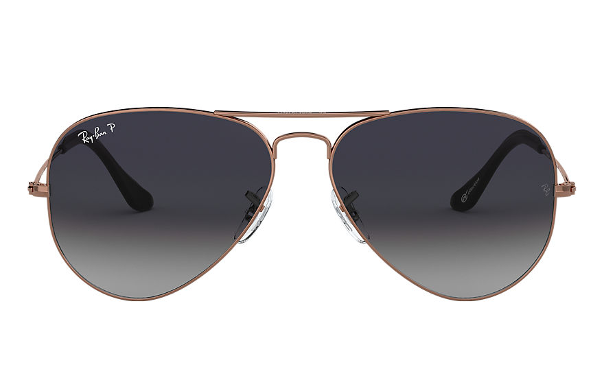 Ray-Ban  sonnenbrillen RB3025 UNISEX 003 aviator collection bronze kupfer 8053672790979