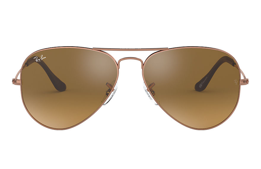 Ray-Ban  sunglasses RB3025 UNISEX 001 aviator online exclusive bronze copper 8053672791006