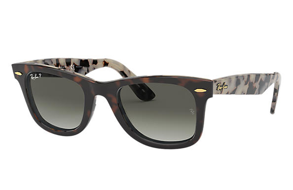 adbc23335014f Ray-Ban Original Wayfarer  collection RB2140 Black - Acetate - Blue Gray  Lenses - 0RB2140901 R550
