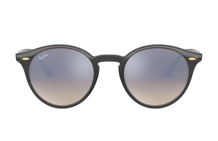 Ray-Ban RB2180 @Collection Grey with Silver Gradient Flash lens