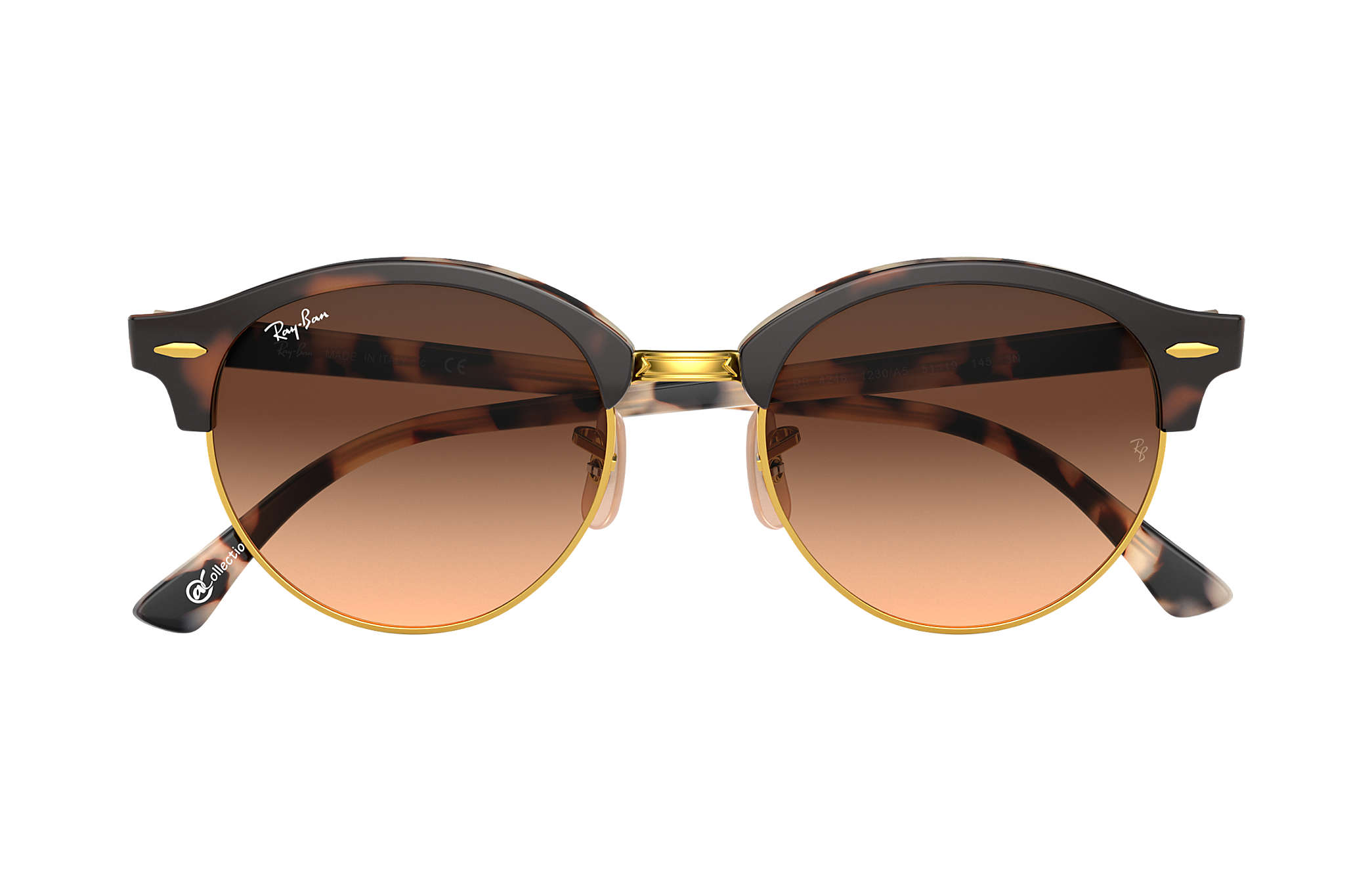 7c1d2f5eec Ray-Ban 0RB4246-CLUBROUND @Collection Habana SUN. image zoomed. Ray-Ban  0RB4246-CLUBROUND ...