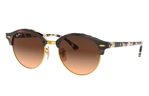 Ray-Ban 0RB4246-CLUBROUND @Collection Tortoise SUN