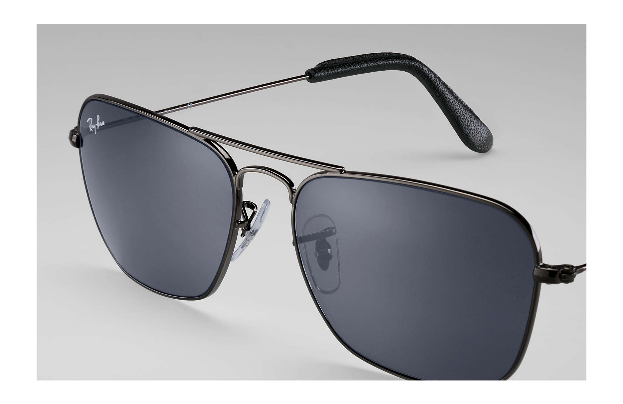 Caravan @collection sunglasses Gunmetal Metal, Blue/Gray Classic ...