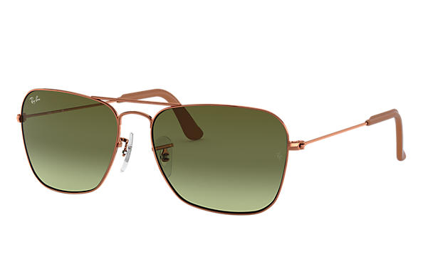 Ray-Ban 0RB3136-CARAVAN Collection Bronze-Kupfer SUN