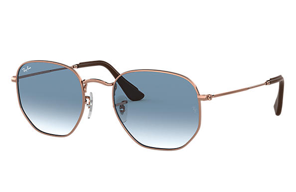 Ray-Ban 0RB3548N-HEXAGONAL Collection Bronze-Copper SUN