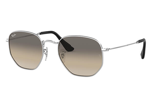 Ray-Ban 0RB3548N-HEXAGONAL @Collection Silver SUN
