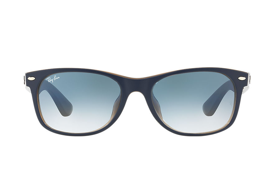 Ray-Ban  sunglasses RB2132F UNISEX 001 new wayfarer color mix blue 8053672792416