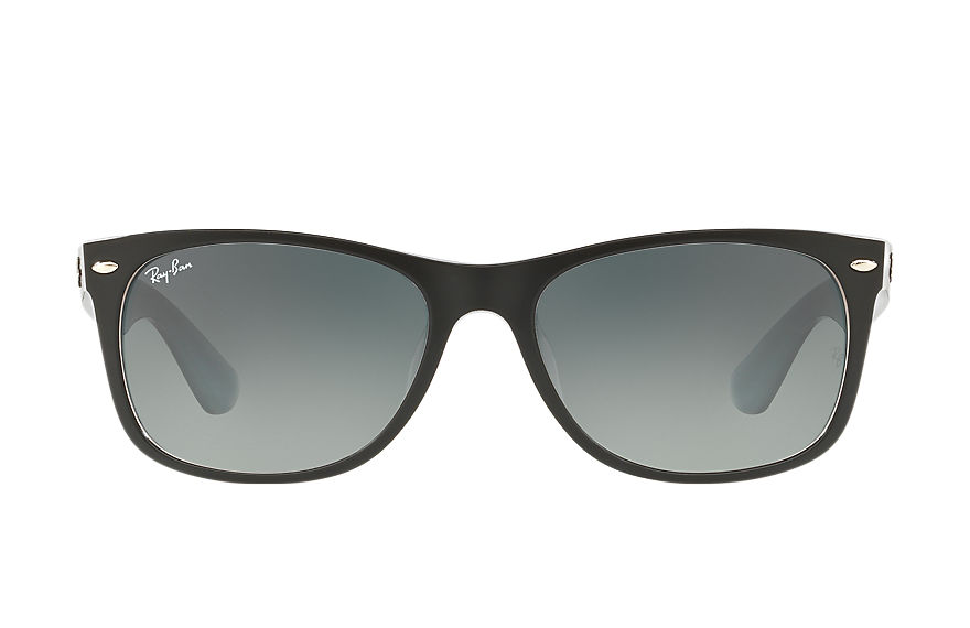 Ray-Ban  sunglasses RB2132F UNISEX 002 新徒步旅行者·混色 黑色 8053672792447