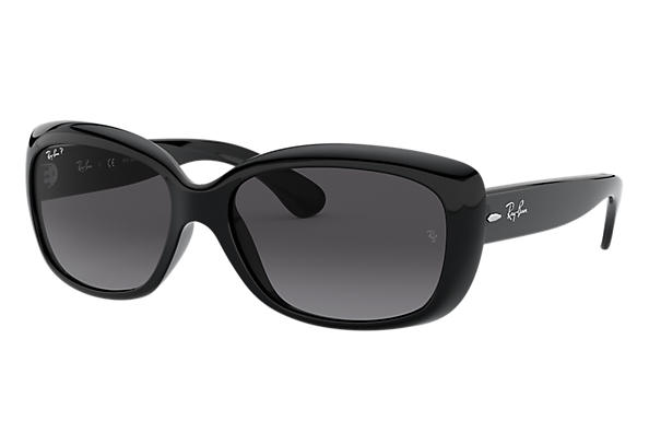 Ray-Ban JACKIE OHH Black with Grey Gradient lens