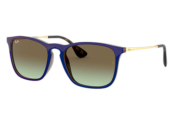 Ray-Ban 0RB4187-CHRIS Brown; Gold SUN